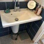 kitchen sink in bathroom repair